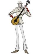 Arlecchino anime design