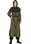 Baijin anime design