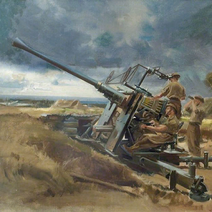 T anti aircraft gun