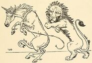 L. Leslie Brooke The Lion and the Unicorn 2