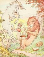 L. Leslie Brooke The Lion and the Unicorn 4