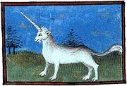 Bartholomeus Anglicus Unicorn