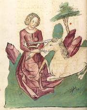Konrad von Megenburg Einhorn