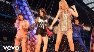 Shake it off - Camila Cabello, Taylor Swift, Charli XCX live performance Rep tour 2018