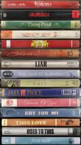 Romance DVDs tracklist artwork