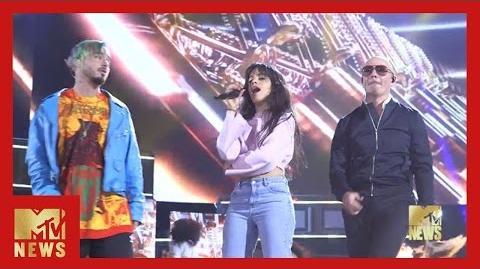 BTS of Camila Cabello's Performance MTV Movie & TV Awards MTV News