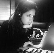 Camila on macbook for cc1
