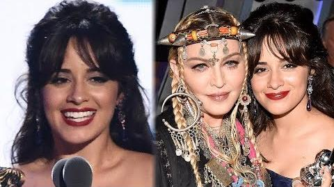 Camila Cabello DEDICATES Video of the Year Award To Madonna at 2018 MTV VMAs