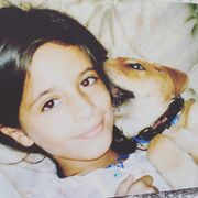 Camila with Ringo when she was young
