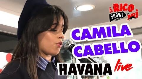 "Camila Cabello ""Havana"" Live - Le Rico Show Sur NRJ"