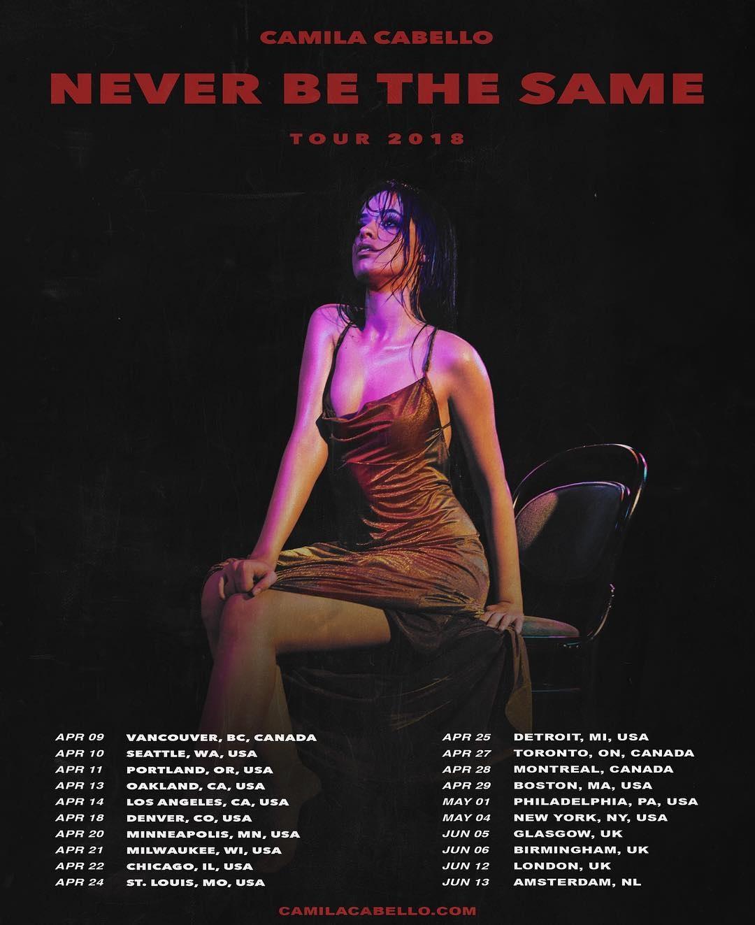 Havana Live Camila Cabello: Never Be The Same Tour