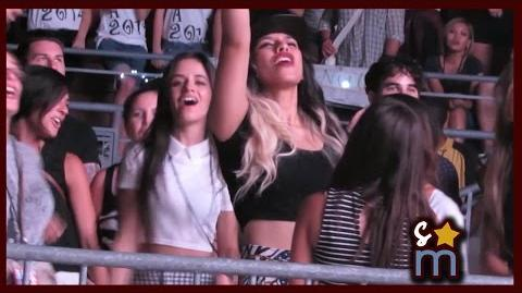 Camila & Dinah Jane Dance to One Direction (Fifth Harmony) - Where We Are Tour 9 13