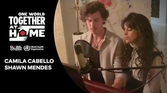 "Camila Cabello & Shawn Mendes perform ""What A Wonderful World One World Together At Home"