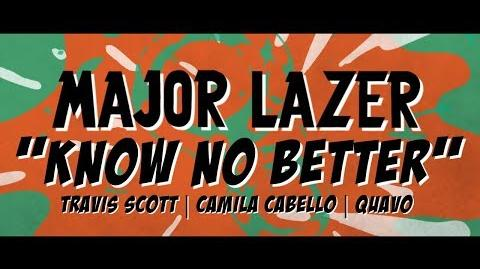Major Lazer - Know No Better Lyric Video (ft