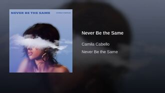 Never Be the Same (Alternative cover)