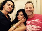Camila with Marco DelVecchio and Anthony Meindl HAVANA BTS
