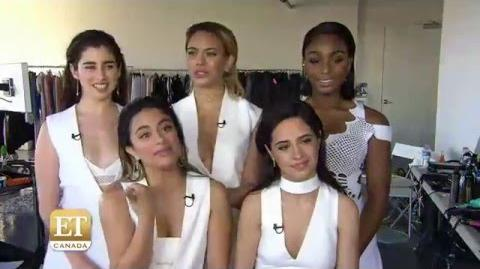 FIFTH HARMONY'S FASHION MAGAZINE PHOTOSHOOT ET Canada