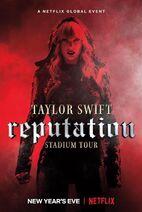Reputation Stadium Tour netflix poster