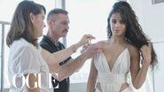 Camila Cabello Gets Ready for the VMAs Vogue