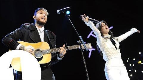 with James Arthur