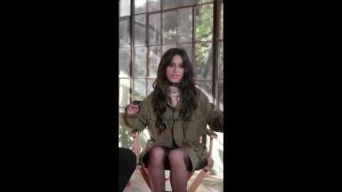 Bad things music video Behind the Scenes and snippets (MTV)