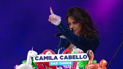 Camila Cabello - 'Bad Things' (live at Capital's Summertime Ball 2018)