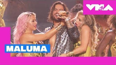 Maluma Performs 'Felices Los 4' (Live Performance) 2018 MTV Video Music Awards