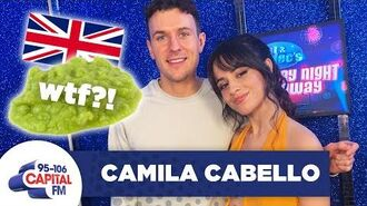 Camila Cabello Has Gone FULL British Filming 'Cinderella' 🇬🇧 Saturday Night Takeaway Capital