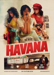 Camila Cabello Havana Music Video Poster