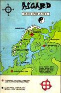 Asgard mapa