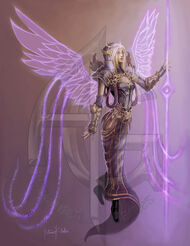 Angel-Female-Cleric