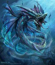 Sea dragon!
