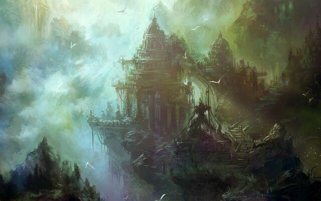 File:Castles mist fantasy art birds 1280x800 61449.jpg
