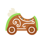 2018greengingerbreadkart
