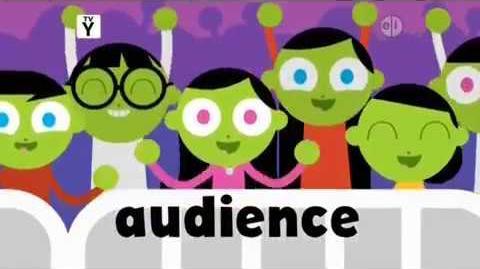 PBS Kids Word of the Week - Audience (2017)