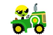 Tractor kart