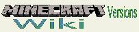 Wiki-wordmark Mincfaft versions