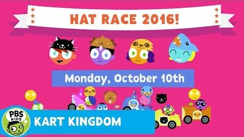 KART KINGDOM Vote For Your Favorite Hat by October 10th PBS KIDS