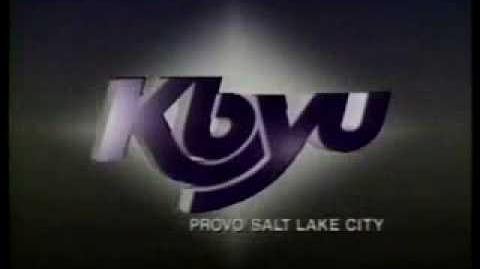 KBYU Logo from Provo Salt Lake City 1988-1993.