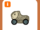 Dinosaur Train Fishbone Kart