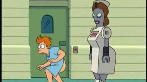 Futurama - The exploding robot scenes