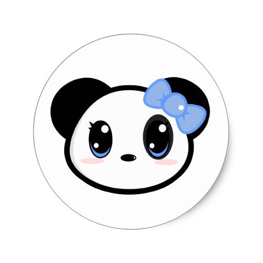 Chibi panda girl sticker-r502772189f434e72a20a935ae1d8203d v9waf 8byvr 540