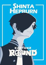 Kartenz Round Shinta Hepburn Poster