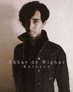 Akbar de Wighar Kartenz Portrait