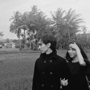 Akbar de Wighar & Chika Riznia in Salatiga, Central Java 2018