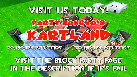 Party Honcho's Kartland Commercial