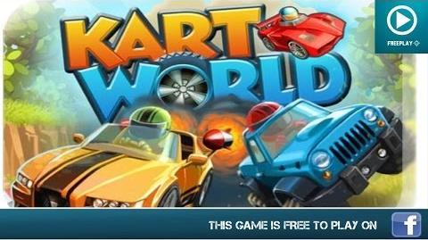 KartWorld 3D - Play On Facebook - Gameplay Trailer