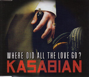 Where Did All The Love Go CD Single (PARADISE64) - 1