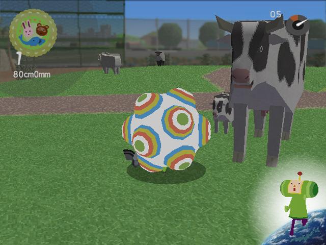 Katamari with cows