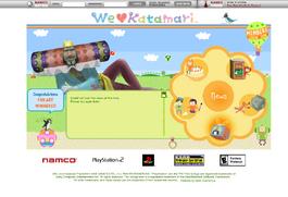 Katamariwebsite